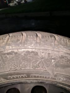Gislaved Mazda 3 winter tires/rims