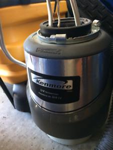3/4 HP Kenmore garburator