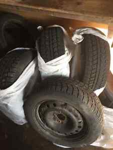 Winter tires and rims for sale St. John's Newfoundland image 1