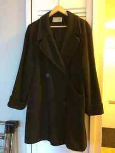 Dark Grey Alpaca Wool Coat West Island Greater Montréal image 1