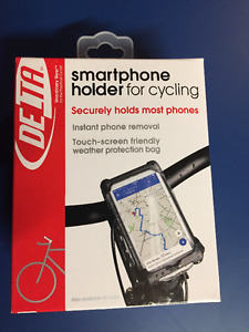Smartphone holder for cycling