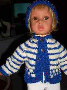 doll clothes  DOLL SWEATER /HAT FOR 18 IN DOLL Windsor Region Ontario image 1