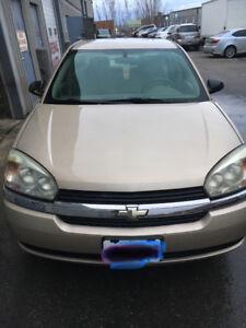 2005 Chevrolet Malibu Sedan