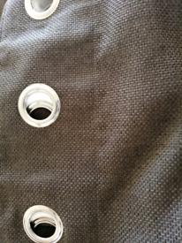 Next curtains charcoal 90 drop