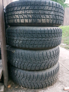 195 60 R15 winter tires