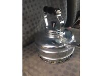 Vintage copper Crome gas kettle