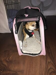 Pink carrier crate for small dog  Kawartha Lakes Peterborough Area image 2