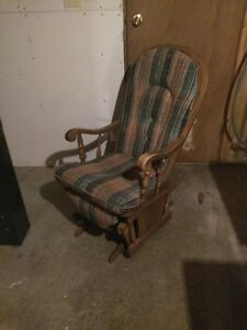 rocker with foot rest