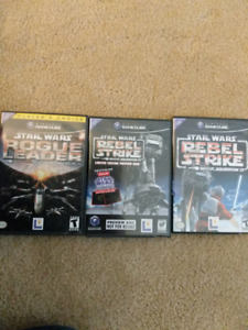 Star Wars Rogue Squadron II and III for GameCube