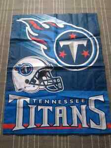 Tennessee Titans Garden Flag 3' x 2 1/4' NFL National Football L London Ontario image 1