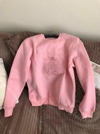 New Kenzo Pink Tiger Sweater Jumper UK 10-12