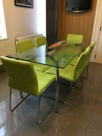 Faux leather dining or office chairs