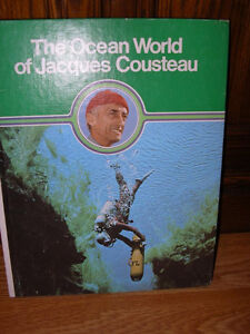 The Ocean World of Jacques Cousteau 20 volume set encyclopedia Windsor Region Ontario image 1
