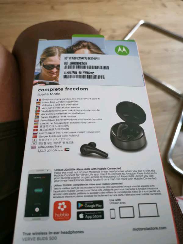 Motorola Verve Ear Buds 500 True Wireless | in Bearsden, Glasgow | Gumtree
