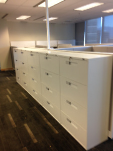 OFFICE FURNITURE CHAIRS DESKS CREDENZAS PANEL SYSTEMS