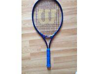 Dunlop and Wilson racquet tennis