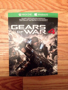 Gears of War 4 Download Code for Xbox One + Windows 10 PC