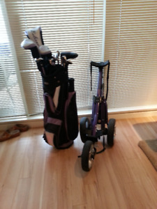 Ladies golf clubs-$300
