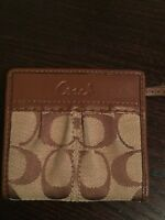Ladies Coach Wallet Small