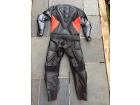 J&S leather motorcycle suit men's size 40