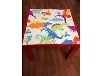 Dinosaur table