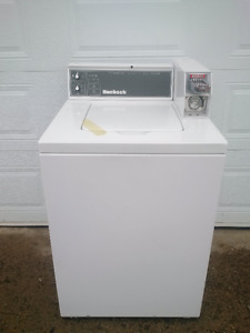 commercial coin operated washer