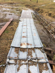 used steel roofing