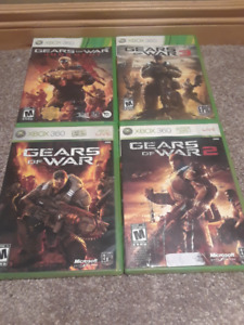 XBox 360 Gears of War games (4)