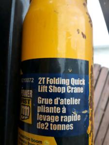 2-ton shop crane