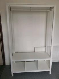 IKEA HEMNES (Open wardrobe)