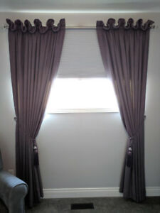 Professional sewing, drapes, pillows, bedding, upholster etc