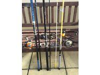 Sea Fishing Rods/Reels/Tackle
