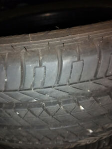 5 All season Tires