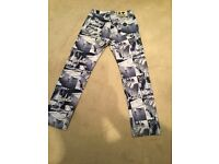 "Men's moshino pattern jeans 32"" waist. £100 ono"