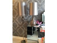 Next matching table and floor lamp