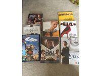8 x DVDs