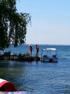 Chalet sur la lac St-Francois