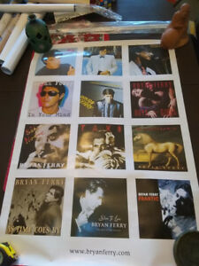Large Bryan Ferry poster