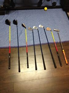 Assorted Youth Golf Clubs