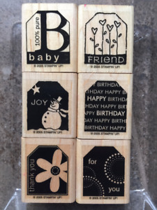 STAMP Awesome Gift Tags Now using TERRIFIC TAGS