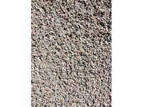 Rough casting granite chips 1/2 ton