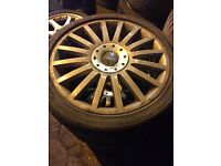 Ford Mondeo st alloy wheels genuine 18""