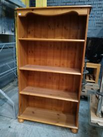 Ex Display Wooden Open book shelf Cabinet (Was £120)