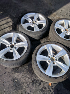 """BMW rims and tires 18"""""""