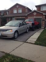 2001 Honda Civic $2000 or trade for Chevy truck