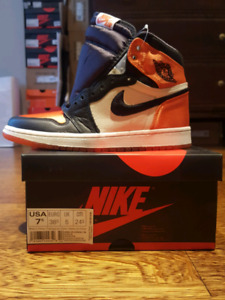 Air Jordan 1 Satin Shattered Backboard size 7.5 Women's