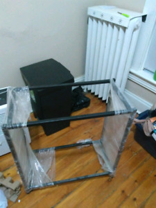 2 metal stands for sale.  Made for 20 gallon standard .