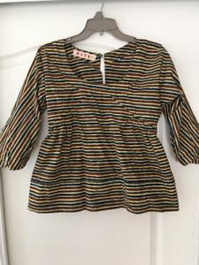 Marni designer cotton top, size small,  DEAL