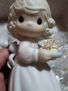 Precious Moments, collection of 9 figures