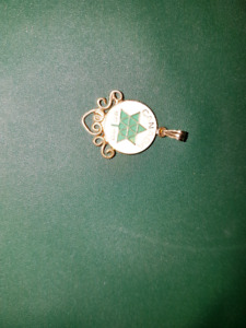 1867 to 1967 pendant for necklace